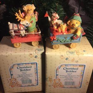 Enesco Cherished Teddies Christmas Collectibles